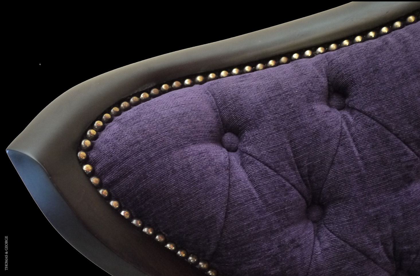 Passion Flower Petal Chair - Luxury-furniture-details - THOMAS & GEORGE ARTISAN FURNITURE - Thomas & George Fine Furniture Inc.