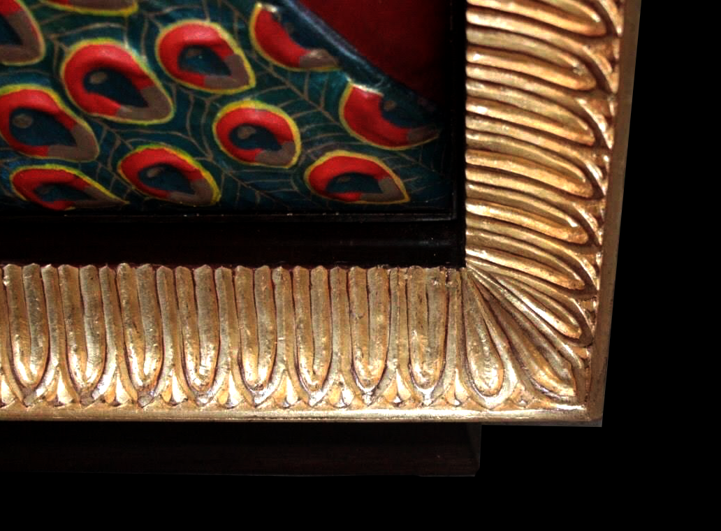 Cabinet - Peacock-Cabinet- Luxury-furniture-details - THOMAS & GEORGE ARTISAN FURNITURE - Thomas & George Fine Furniture Inc.